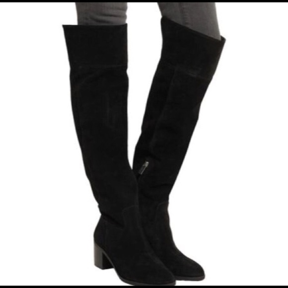 detailing closer at new product Michael Kors Paulette Over The Knee Boot